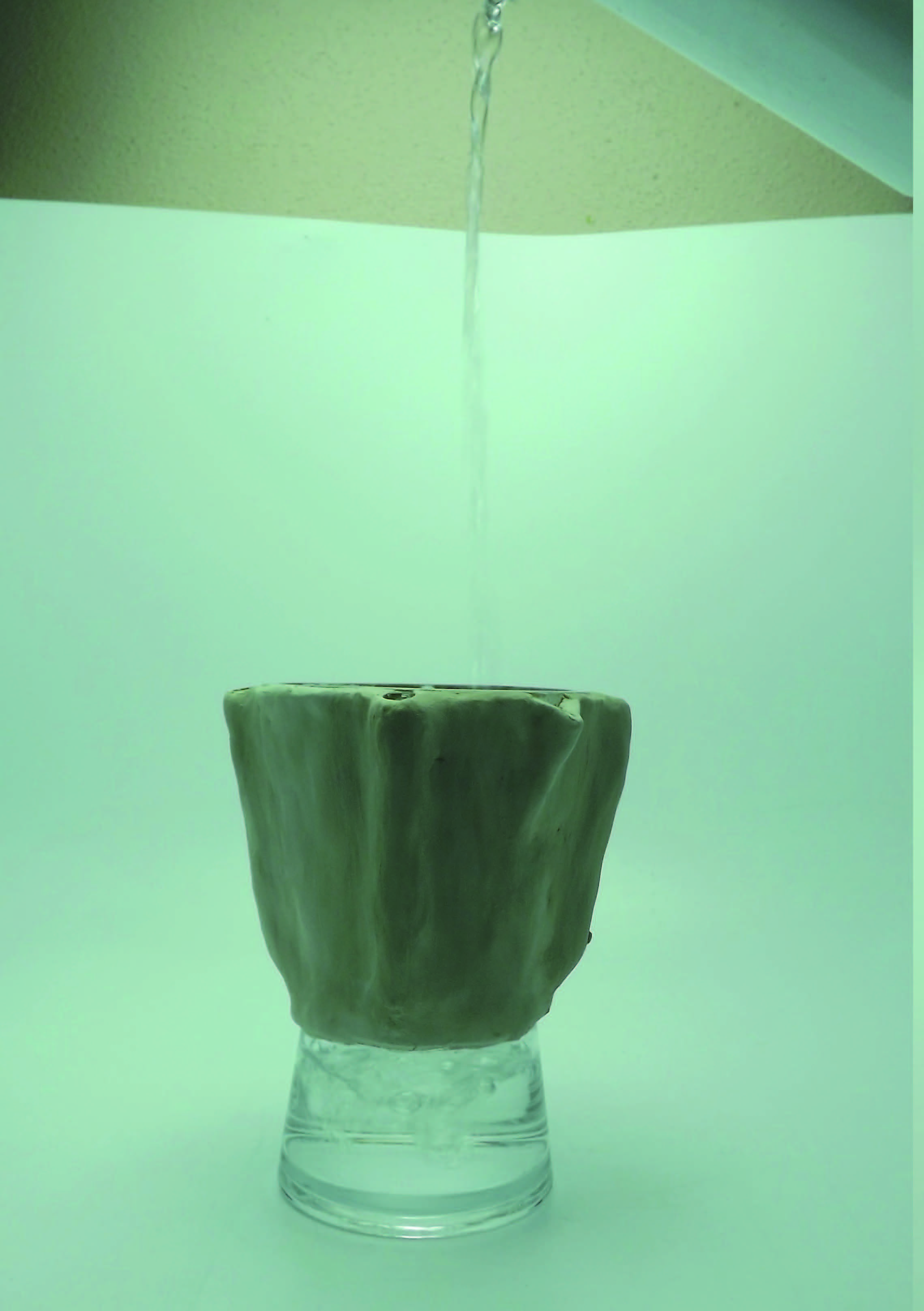 Exemple de carafe, avec eau
