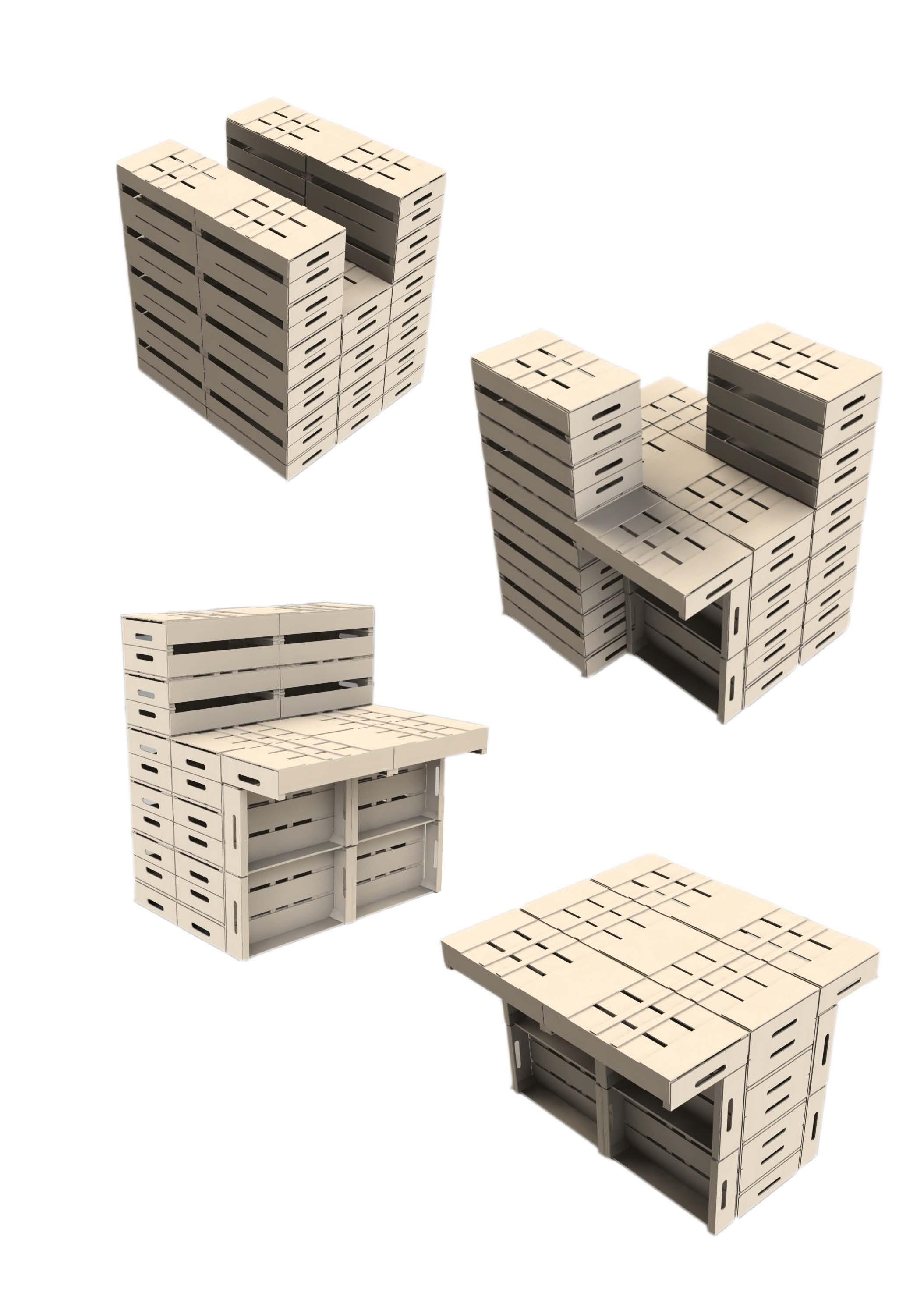 4 modules